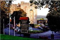 R4560 : Bunratty - Bunratty Castle - From Bunratty Castle Hotel by Joseph Mischyshyn
