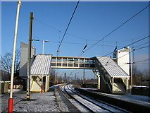 SE1537 : Shipley Station Footbridge by Stephen Armstrong