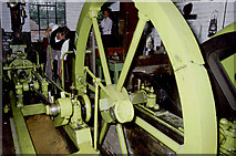 SJ6903 : Steam winding engine, Blists Hill Museum by Chris Allen