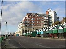 SZ1191 : Boscombe, Honeycombe Beach by Mike Faherty