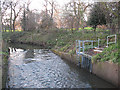 TQ3774 : Drainage outfall into the River Ravensbourne by Stephen Craven