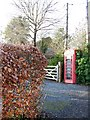 SU3112 : Telephone box, Bartley by Maigheach-gheal