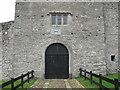 G7835 : Parkes Castle, entrance by Willie Duffin