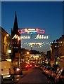 SX8671 : Christmas in Newton Abbot by Derek Harper