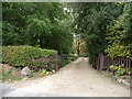 TG2227 : Entrance to the Old Vicarage, Tuttington, Norfolk by Christine Matthews