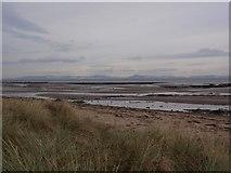 NS3119 : Greenan Shore looking towards Arran by Alec MacKinnon