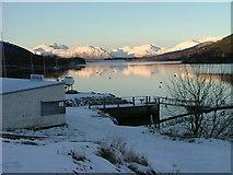 NN0958 : Glencoe Boat club by Dave Fergusson