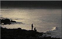 NT4884 : On the Black Rocks by Alan Murray-Rust