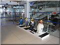 SJ3390 : Go Penguins in the Mersey Ferries Building by John S Turner