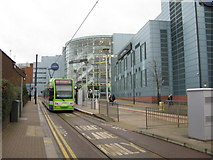 TQ3265 : Centrale shopping centre and tram stop by Dr Neil Clifton