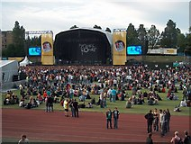 NT2774 : Concert at the Meadowbank Stadium by Bill Boaden