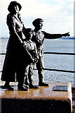 W7966 : Cobh - Heritage Centre - Statue of Annie Moore by Joseph Mischyshyn