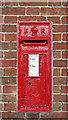 TF7605 : Edward VII postbox by Evelyn Simak