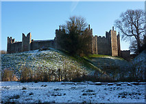 TM2863 : Framlingham Castle by Andrew Hill