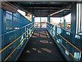TA0509 : Footbridge Ramp, Barnetby Station by David Wright