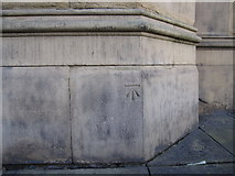 SJ3589 : Bench mark on St Luke's church by John S Turner