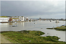 TQ2104 : River Adur at Shoreham-by-Sea, West Sussex by Roger  Kidd
