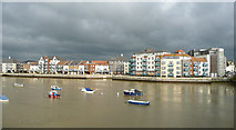 TQ2105 : Across the River Adur, Shoreham-by-Sea, West Sussex by Roger  Kidd