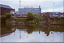 SJ8298 : Entrance to Manchester & Salford Junction Canal by Robin Webster