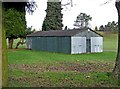 SO8071 : Stourport War Memorial Park - The Old Cricket Pavilion by P L Chadwick