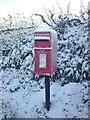 SN1306 : Postbox in Sardis by Pauline Evans