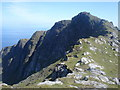 NF8031 : Beinn Mhor and Buail' a' Ghoill by Keith Cunneen