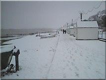 TM3034 : Beach Huts by Tim Marchant