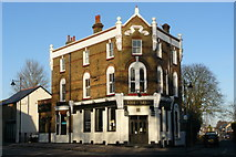 TQ2764 : The Sun Hotel, Carshalton, Surrey by Peter Trimming