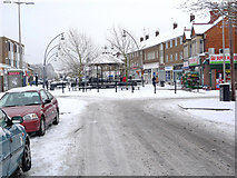 SP8733 : Queensway in the Snow by Cameraman