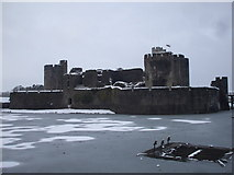 ST1587 : Caerphilly Castle by John Lord