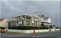 TQ1602 : New seafront building at East Worthing, West Sussex by Roger  Kidd