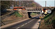 O0974 : Tara mines train, Drogheda by Albert Bridge
