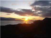 NG6152 : Sunset over Skye by Keith Cunneen
