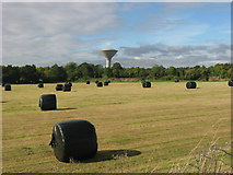 O1172 : Water tower at Kiltrough, Co. Meath by Kieran Campbell