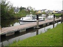 G9504 : Shannon-Erne Waterway at Leitrim village by Oliver Dixon