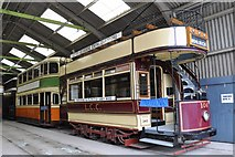 SK3455 : Tram 106 in the Tram Shed by Brian Chadwick