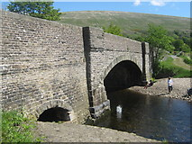 SD7087 : Church Bridge and the River Dee, Dent, Dentdale, Cumbria by Eamon Curry
