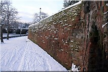 SJ4065 : The City Walls, Chester by Jeff Buck