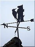 ST9102 : Weather vane, Spetisbury by Maigheach-gheal
