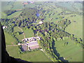 SP2526 : Aerial view of Daylesford by john shortland