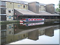 SD6828 : Canal Barges at Eanam Wharf Blackburn by Tom Howard