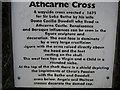 O0265 : Info on Atcarne cross by Jamie Carroll