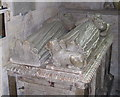 SP3127 : Effigy in St Mary's Church, Chipping Norton by john shortland