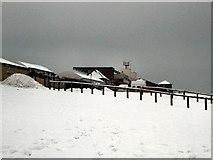 TQ3305 : Snow scene near Brighton racecourse by Paul Gillett