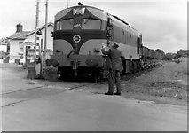 N8576 : Gypsum train at Wilkinstown near Navan by Albert Bridge