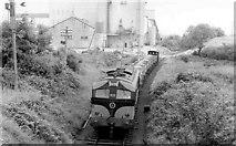 N7995 : Gypsum train near Kingscourt by Albert Bridge