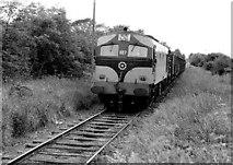 N8572 : Kingscourt train at Gibbstown near Navan by Albert Bridge