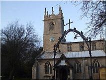 SK7288 : St Peter's church, Clayworth by Glyn Drury