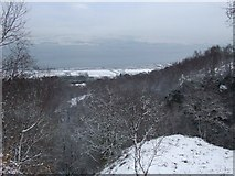 NS3174 : River Clyde from Devol Glen by Thomas Nugent