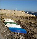 SY6874 : Boats near Portland castle by Ceri Thomas